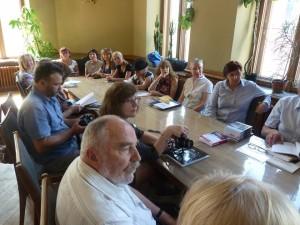 Spotkanie w Związku Pisarzy Litwy