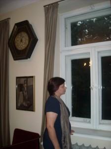 Maria Duszka w Muzeum Anny i Jarosława Iwaszkiewiczów w Stawisku