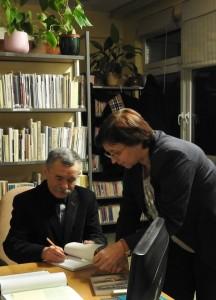 Józef Baran i Maria Duszka; fot. Agnieszka Jarzębowska