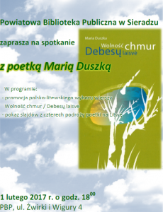 zaproszenie Maria Duszka