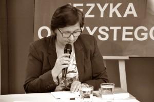 Maria Duszka w ZS nr 7 w Kaliszu