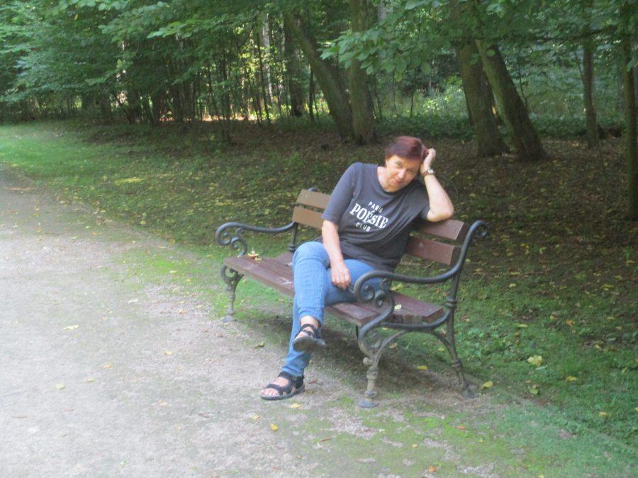 Maria Duszka w Antoninie, fot. Piotr Spottek